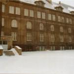Budynek szkoły dawniej